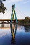 University Bridge in Bydgoszcz Royalty Free Stock Image