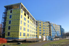 University of British Columbia Campus Housing Construction Royalty Free Stock Photo