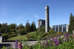 University of British Columbia UBC, Vancouver hori Royalty Free Stock Images
