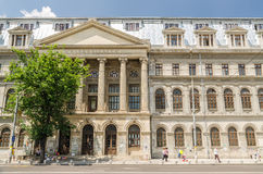The University of Bucharest Stock Image