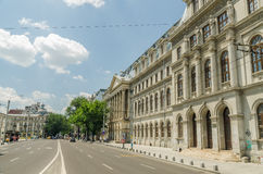 The University of Bucharest Royalty Free Stock Photo