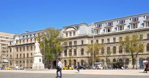 The University Of Bucharest (Universitatea Din Bucuresti) stock video