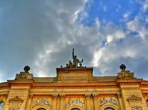 University building. Entrance of Warsaw Institute of Technology (Politechnika Warszawska Royalty Free Stock Photos