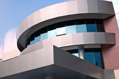University building. Modern university building in Bangkok royalty free stock image