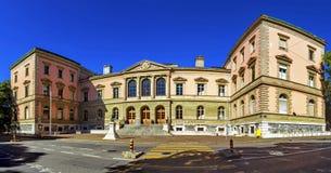 University building, Geneva, Switzerland Royalty Free Stock Photo