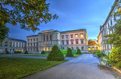 University building, Geneva, Switzerland, HDR Stock Photos