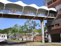 University building, Puerto Ordaz, Venezuela. UCAB University building, Puerto Ordaz, Venezuela.nView of the buildings and facilities of the Venezuelan royalty free stock photos