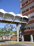 University building, Puerto Ordaz, Venezuela. UCAB University building, Puerto Ordaz, Venezuela.nView of the buildings and facilities of the Venezuelan stock images