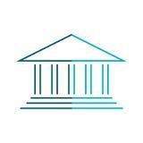 University building symbol Stock Photos