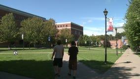 University buildings (2 of 2) stock video