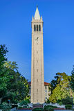 University of California Berkeley Sather Tower Royalty Free Stock Photos