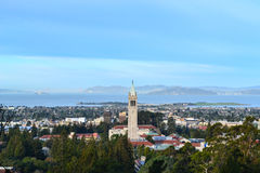 University of California Campus Aerial Royalty Free Stock Image