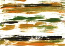 University of California Gold abstract watercolor background