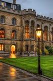 University of Cambridge in Cambridge, England, UK.  Royalty Free Stock Photos