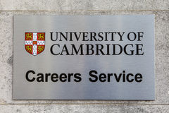 University of Cambridge Careers Advice Royalty Free Stock Photos