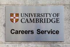 University of Cambridge Careers Advice Royalty Free Stock Photos