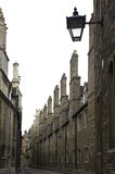 University of cambridge, trinity college outer wal Stock Photography