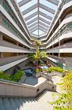 University Campus. The interior of a National University of Singapore's campus stock photo