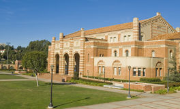 University Campus Architecture. Brick Architecture at a University campus at a Los angeles school Royalty Free Stock Image