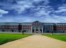 University Campus college building Royalty Free Stock Image