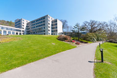 University campus. Campus at the University of Stirling, Scotland Royalty Free Stock Photos