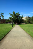 University Campus Walkway Royalty Free Stock Photo