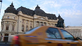 University Central Library in Bucharest, Romania Royalty Free Stock Photos