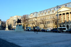 University in the centre of Bucharest Royalty Free Stock Photography