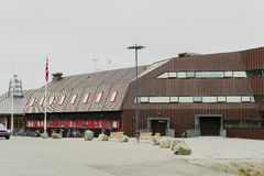 University Centre in Svalbard Royalty Free Stock Images