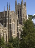 University Chapel 2. An image of the Duke University Chapel Royalty Free Stock Images