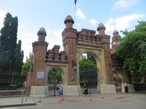 University in Chernivtsi.  Royalty Free Stock Images