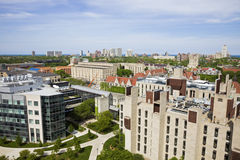 University of Chicago campus royalty free stock photography