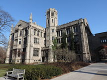 University of Chicago campus royalty free stock photos