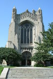 University of Chicago Chapel Stock Images