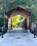 University of Chicago Gate Stock Images