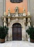 University Church door Stock Images