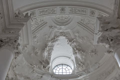 University Church or Kollegienkirche interior in Salzburg stock images