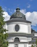 University Church or Kollegienkirche in Salzburg, Austria royalty free stock photo