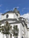 University Church or Kollegienkirche in Salzburg, Austria Royalty Free Stock Image