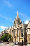 University church of St Mary, Oxford. Stock Photography