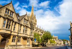 University Church of St Mary the Virgin in Oxford Royalty Free Stock Images