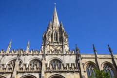 University Church of St. Mary the Virgin in Oxford Stock Image