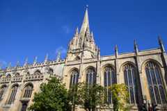 University Church of St. Mary the Virgin in Oxford Royalty Free Stock Photos