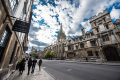 University Church of St Mary the Virgin, Oxford Stock Photography