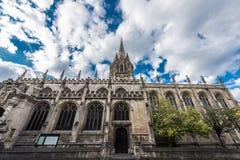 University Church of St Mary the Virgin, Oxford Stock Photos