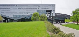 The University of Cincinnati, Ohio. CINCINNATI, OH - Part of the University System of Ohio, the University of Cincinnati (UC), a public research institution, is royalty free stock photos