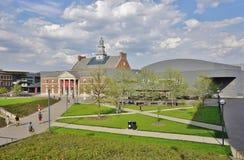 The University of Cincinnati, Ohio. CINCINNATI, OH - Part of the University System of Ohio, the University of Cincinnati (UC), a public research institution, is stock photos
