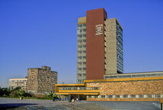 University City of Mexico Royalty Free Stock Photography