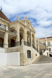 University of Coimbra. Detail of Coimbra University, Portugal royalty free stock photography