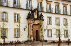 University of Coimbra, established in 1290, one of the oldest universities in the world. UNESCO World Heritage. Site.Portugal stock image